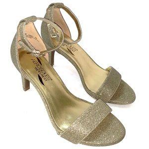 NWOT Aerosoles heels in gold
